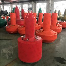 饮用水库外围拦船浮标 宁波水面界标厂家