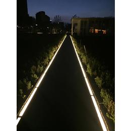 广场发光地砖灯 发光人行道埋地灯定制厂家