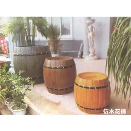 特色型号仿木花桶