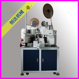 创达机械厂(图)-全自动排线端子机厂商-天津全自动排线端子机