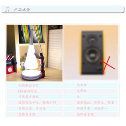 生产电脑音箱无线充电台灯 手机usb卧室小夜灯
