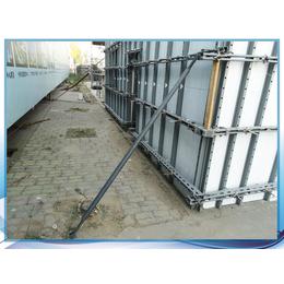 山西太原剪力墙钢支撑阳角洞口双斜支撑模板支撑方法