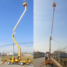 14米柴油机驱动升降机 路灯维修高空作业平台现货直销