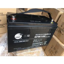 三瑞蓄电池6FM33-X 12V33AH免维护