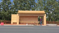 防腐木木屋案例