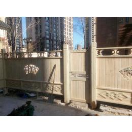 户外碳化防腐木栅栏别墅庭院围栏