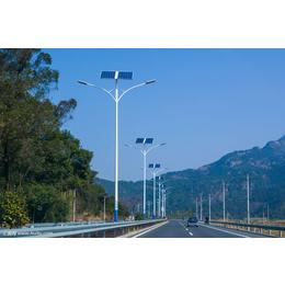 晋州太阳能路灯与普通路灯比较 泛光灯大全
