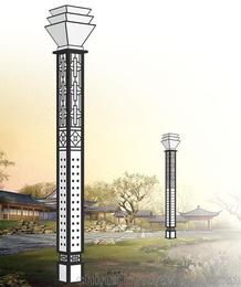 户外景观灯 装饰照明 圆形方形可定制 保定利祥批发定制