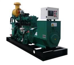 湖北75KW猪粪发电机 养猪企业粪污再生能源利用气体发电