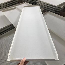 厂房定制300X1200白色铝扣板吊顶
