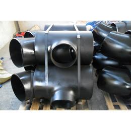 许昌坤航大量现货供应Q235B冷拔异径碳钢无缝三通