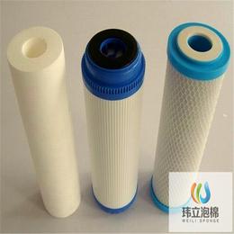 定制过滤泡棉过滤棉网孔异形水槽空气过滤棉