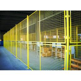 护栏网定做框架护栏网车间防护网车间隔离网