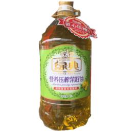 绿典营养压榨菜籽油   5L