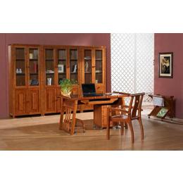 木质书桌书柜家具定制
