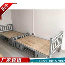 福建維航專業教師宿舍鋼制單層床 工廠員工宿舍雙層鐵床
