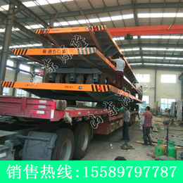 源隆定做40吨重型平板拖车 港口平板运输车 大型机器周转车