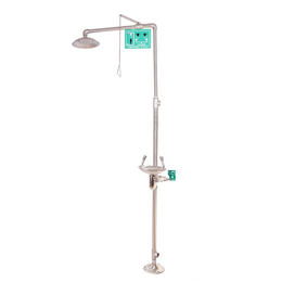 拉萨BTF11复合式冲淋洗眼器宁夏不锈钢紧急喷淋洗眼器缩略图