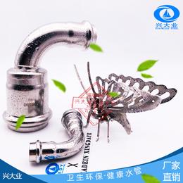 重庆南岸 商场专用 304薄壁不锈钢排水管 安全耐蚀缩略图