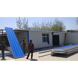 津南区钢结构雨棚设计安装 天津安装岩棉彩钢房技术娴熟