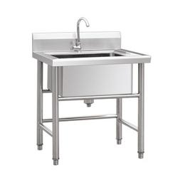 厨具厂家供应组装简便厨房工作桌水池