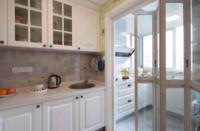 厨房装修的防盗门什么颜色好看?