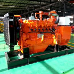 自贡50kw千瓦双余热回收燃气发电机组 生猪养殖场用气体发电