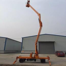 曲臂升降机 衡阳市全自行高空作业平台 gkt-14升降车制造
