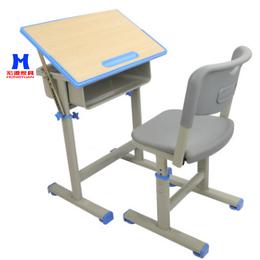 厂家直销大中小学生培训课桌凳可定制学生课桌凳儿童课桌凳