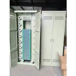 西安冷轧板材质机房满配288芯光纤配线柜