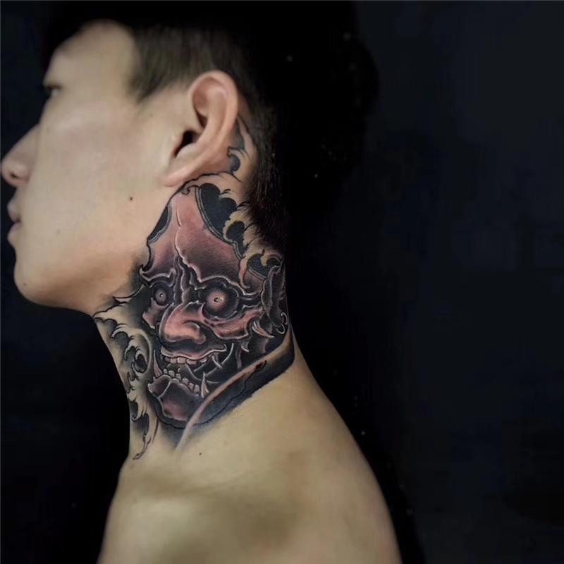 日式生首纹身