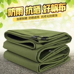 军绿色双层防水加厚篷布缩略图