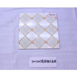 K330时尚琥珀釉k金砖