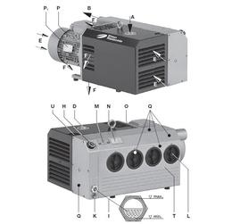 里其乐Rietschle油式旋片真空泵VCE25