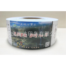 重庆厂家定制门票印刷 卷筒景区门票 入场券折叠门票定做