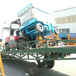 8吨等车桥 移动登车桥 液压装卸过桥 集装箱装卸过桥