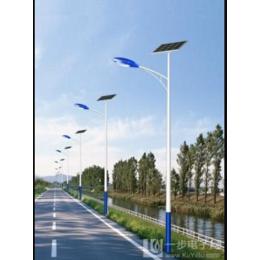 太阳能路灯 加光板6米 热镀锌喷塑 经久耐用不生锈