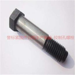 石标牌绞制孔螺栓 誉标紧固件公司生产各种高难度异形绞制孔螺栓