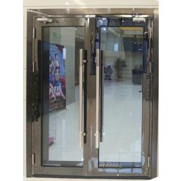 大玻璃不锈钢防火门客户采购操作简便的就找固盾防火玻璃门厂