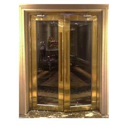 湖南钛金不锈钢玻璃甲级玻璃防火门不仅销量高而且服务好