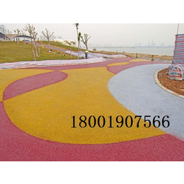 杭州西湖景区生态环保型渗水地坪路面施工