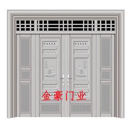 JH-1772铝合金大门