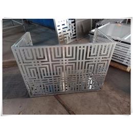 异型冲孔板-润吉金属-空调外机挡风板异型冲孔板
