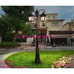 景观灯户外3米庭院路灯LED高杆花园防水户外欧式草坪灯缩略图