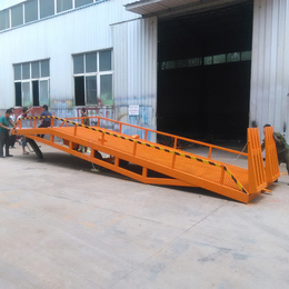 10吨移动登车桥 集装箱装卸登车桥报价 移动装卸过桥报价