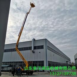 18米折臂伸缩臂升降机南昌曲臂伸缩臂升降平台星汉18米举升机
