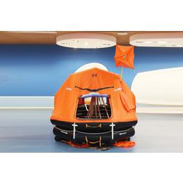 海安供货6人-35人抛投式气胀救生筏 KHA-6