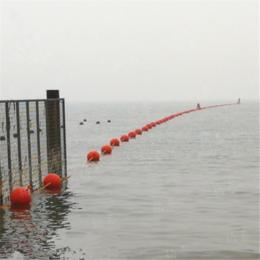 河道施工警示围栏浮漂球柏泰供应