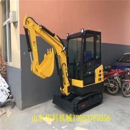 山东华科机械  小型挖掘机哪个牌子的号