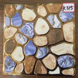 K315鹅卵石琥珀釉K金砖